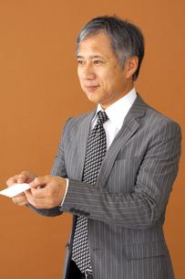 ビジネスマンのポートレートの写真素材 [FYI00419179]