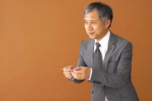 ビジネスマンのポートレートの写真素材 [FYI00419180]