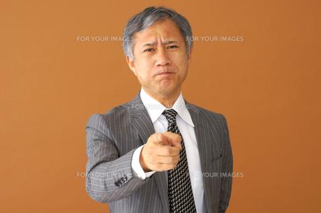 ビジネスマンのポートレートの写真素材 [FYI00419187]