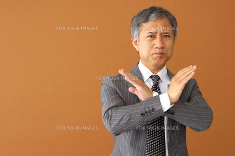 ビジネスマンのポートレートの写真素材 [FYI00419191]