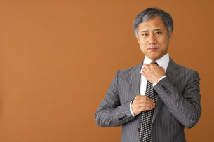 ビジネスマンのポートレートの写真素材 [FYI00419197]