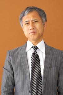 ビジネスマンのポートレートの写真素材 [FYI00419198]
