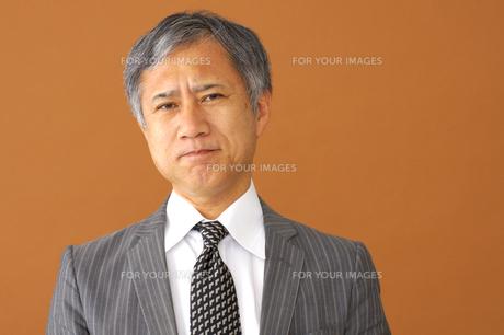ビジネスマンのポートレートの写真素材 [FYI00419201]
