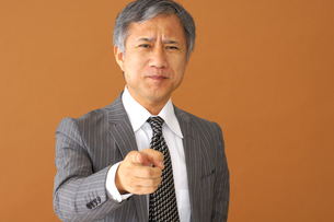 ビジネスマンのポートレートの写真素材 [FYI00419203]