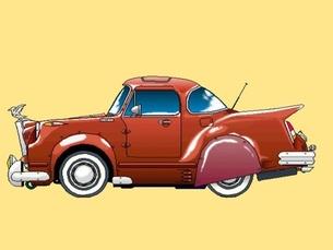 ノスタルジックな車の写真素材 [FYI00419348]