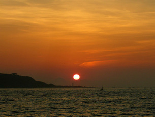 日の出の写真素材 [FYI00419365]