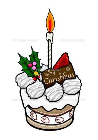 クリスマスケーキの写真素材 [FYI00419386]