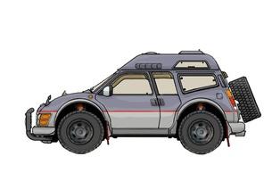 4WD車の素材 [FYI00419425]