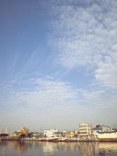 港の高い空の素材 [FYI00419432]