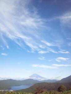 秋空と富士山の素材 [FYI00419437]