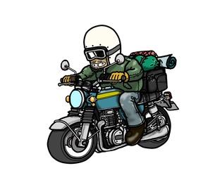 バイク旅の素材 [FYI00419457]