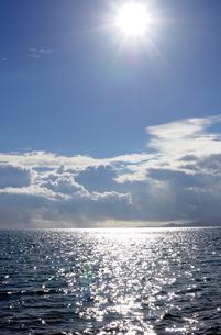 海と太陽と空の写真素材 [FYI00419485]