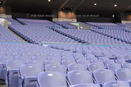 スタジアムの観客席の素材 [FYI00419489]