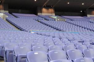 スタジアムの観客席の写真素材 [FYI00419489]