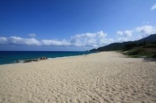 屋久島 いなか浜の写真素材 [FYI00419634]