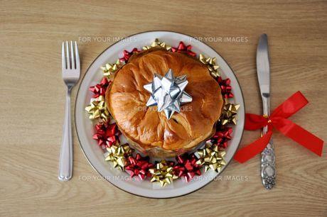 クリスマスのパンの写真素材 [FYI00419682]