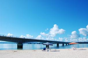 沖縄のビーチの風景の写真素材 [FYI00419709]