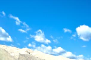 白い砂浜の写真素材 [FYI00419833]