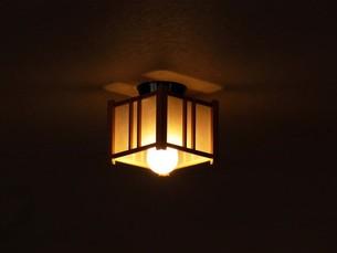 和風な照明の写真素材 [FYI00420078]