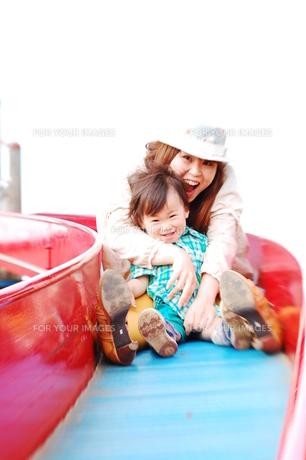 若い親子の写真素材 [FYI00420207]