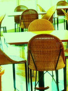 籐椅子の写真素材 [FYI00420334]