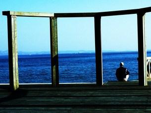 海にての写真素材 [FYI00420362]