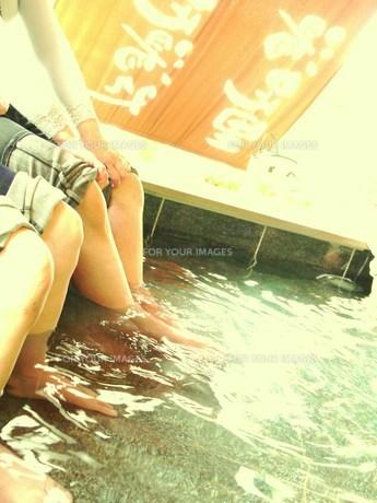 足湯の写真素材 [FYI00420394]
