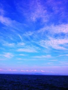 夏空と房総半島の写真素材 [FYI00420424]