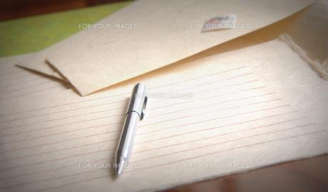 手紙の写真素材 [FYI00420484]