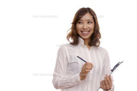 女性のポートレートの写真素材 [FYI00420539]