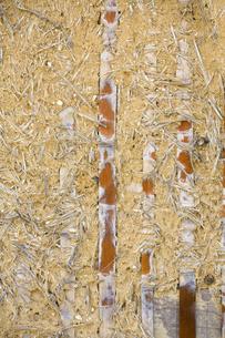 日本古家の土壁の素材 [FYI00420636]