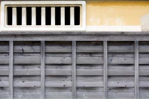 古家の壁の写真素材 [FYI00420640]