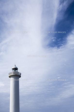 灯台と空の素材 [FYI00420714]