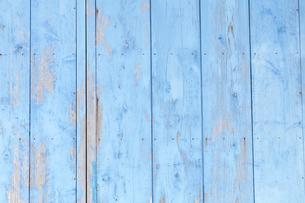 青色の壁の写真素材 [FYI00420754]