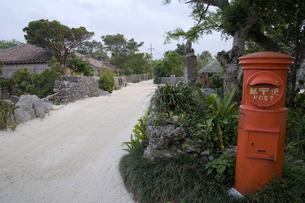 竹富島の郵便ポストの素材 [FYI00420841]