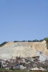 砕石現場の写真素材 [FYI00420848]