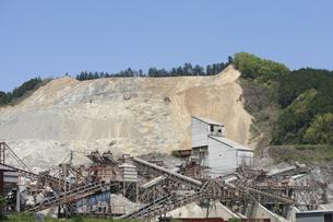 砕石現場の写真素材 [FYI00420855]
