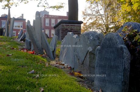 ボストンの墓の写真素材 [FYI00420974]