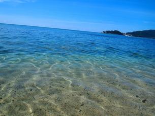 透き通った海の写真素材 [FYI00421007]