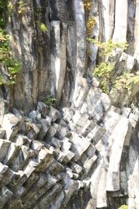玄武洞 青龍洞の地質の素材 [FYI00421104]