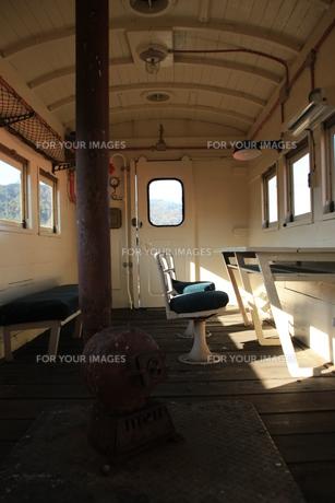 蒸気機関車の車内の素材 [FYI00421107]