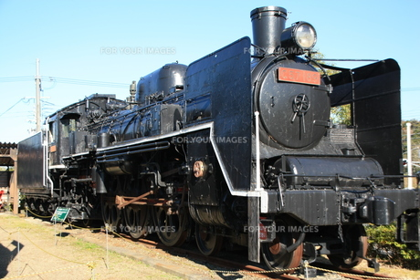蒸気機関車の素材 [FYI00421112]