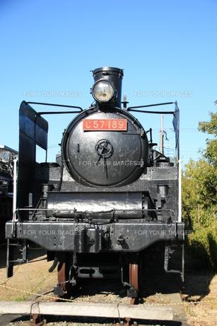 蒸気機関車の写真素材 [FYI00421125]