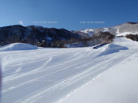 スキー場の素材 [FYI00421159]