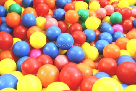ボールプールの写真素材 [FYI00421165]