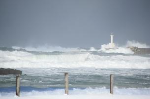 冬の日本海の写真素材 [FYI00421174]
