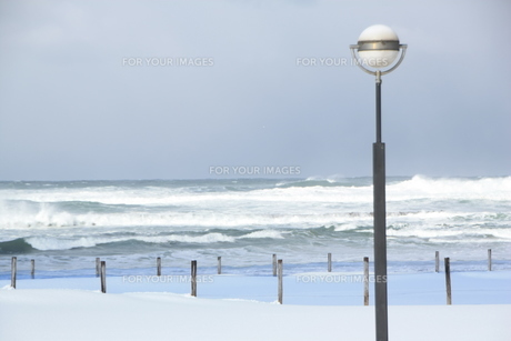 冬の日本海の素材 [FYI00421183]
