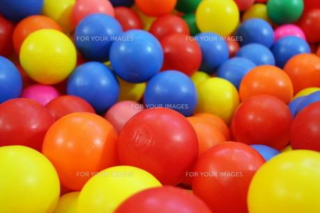 ボールプールの写真素材 [FYI00421185]