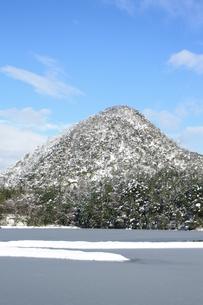 久美浜湾の海面に積雪の素材 [FYI00421190]