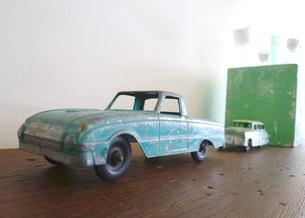 おもちゃの車の写真素材 [FYI00421282]
